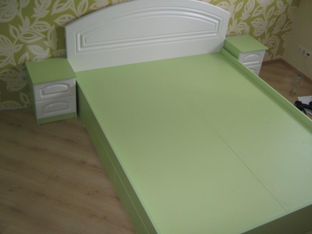 Мебель зеленого оттенка