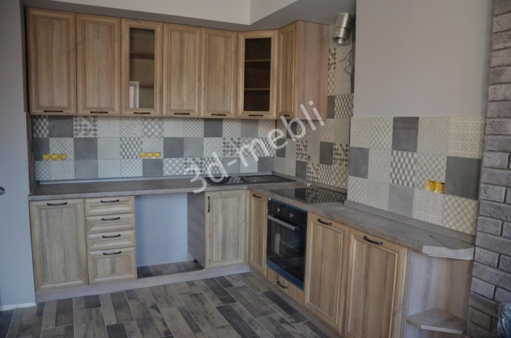 Небольшая кухня для квартиры в стиле лофт