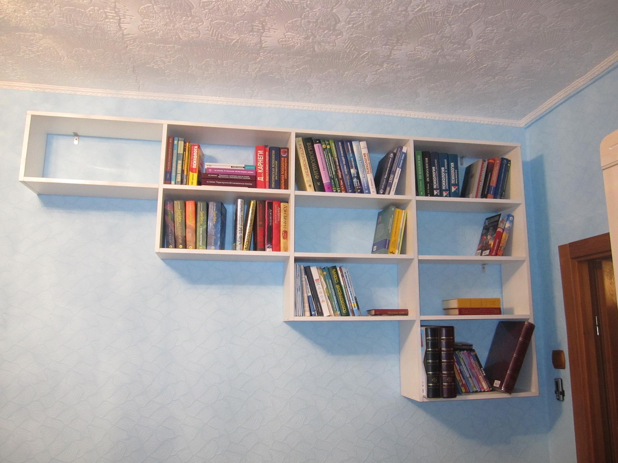 Відкриті книжкові полиці