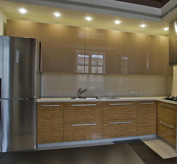 Навесные шкафы кухни
