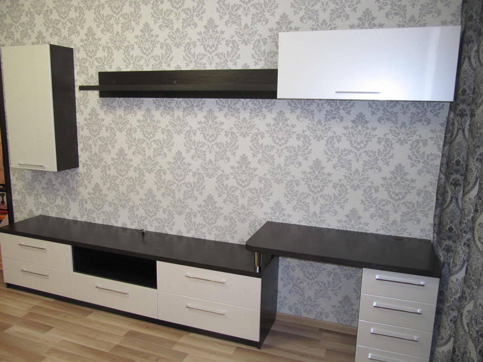 04. Модульная мебель с рабочей зоной.