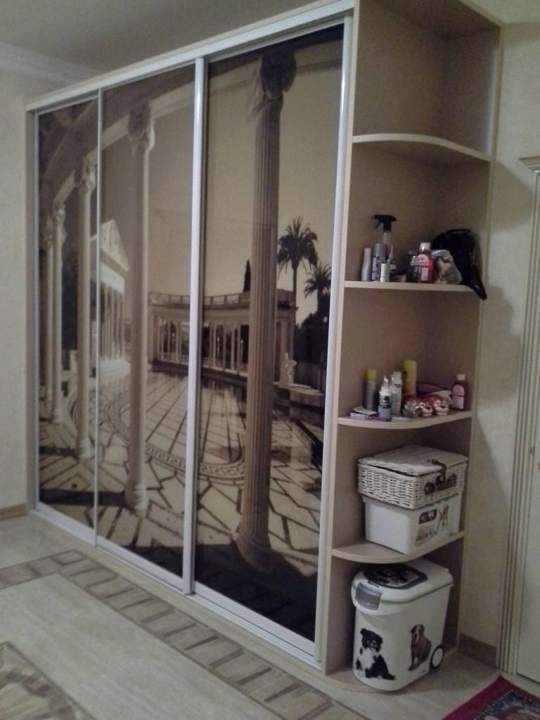 Фотопечать на мебели, подобранная под интерьер