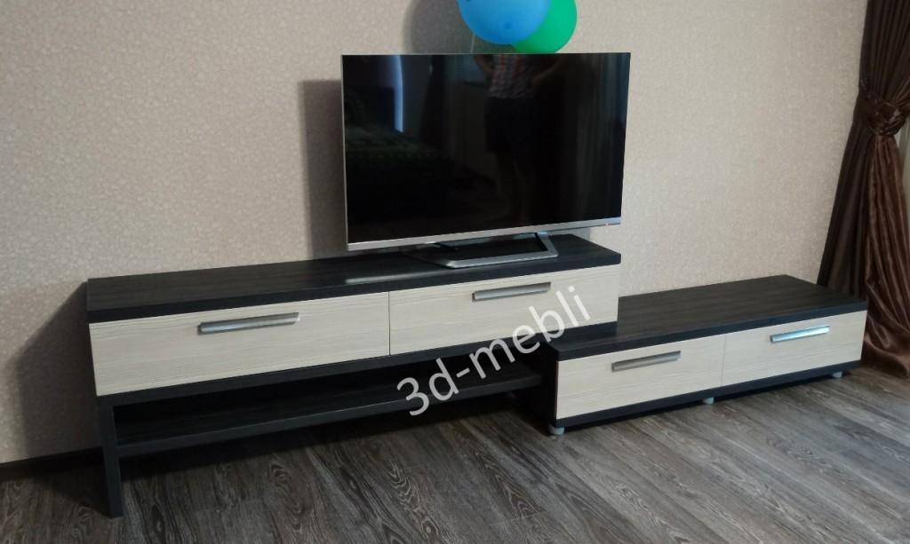 Несимметричная тумба под ТВ